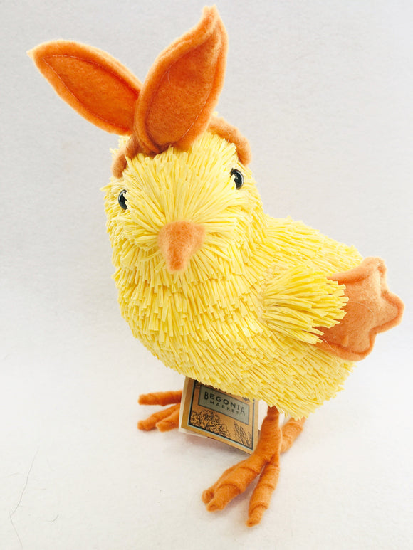 Easter Chick Wearing Bunny Ears