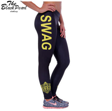 SWAG Fitness Leggings - Multiple Colors and Sizes