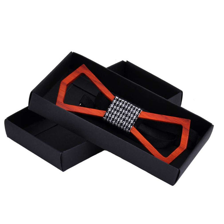Trendy Bamboo Bow Tie For Men