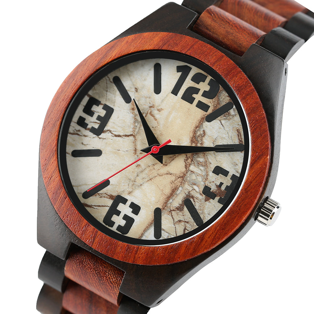 Ladies Bamboo Wristwatch