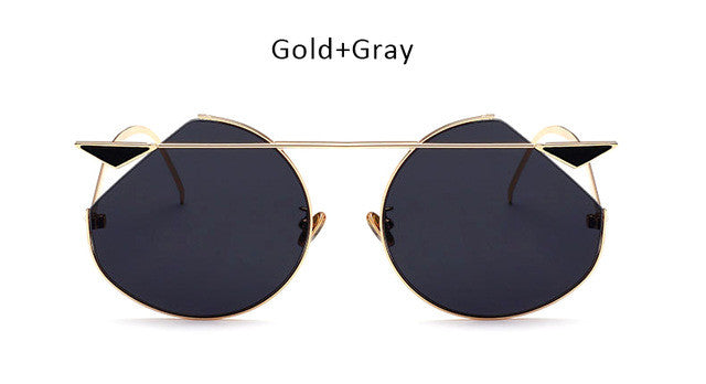 Modern Cat Eye Sunglasses