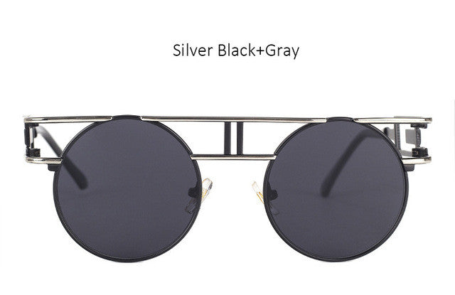 Vintage Metal Frame Steampunk Sunglasses