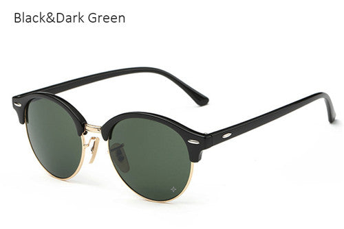 Half Frame Club Sunglasses