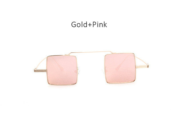 Colored Square Sunglasses