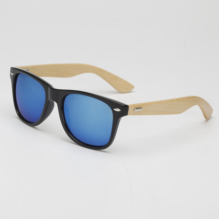 Bamboo Mirror Sunglasses