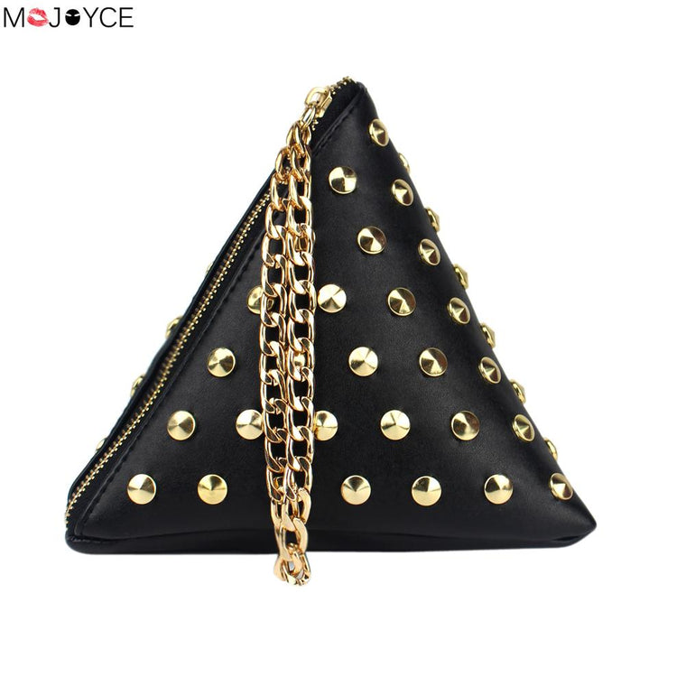 Classy Pyramid Shape Evening Bag