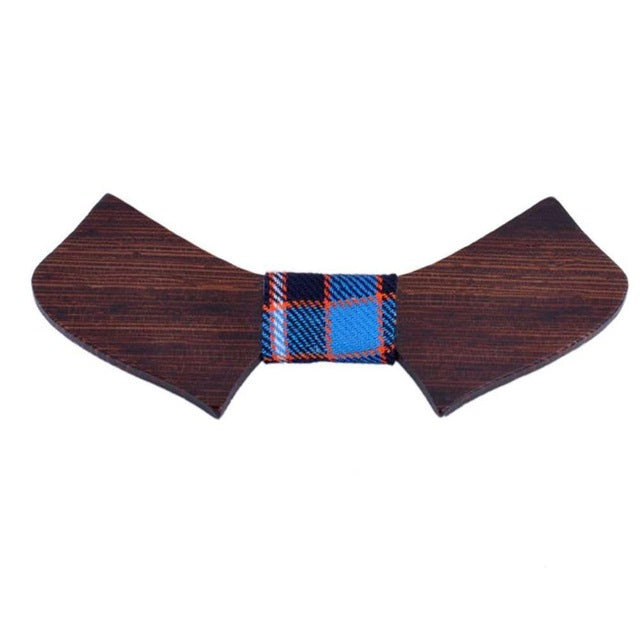 Winged Bamboo Bow Tie