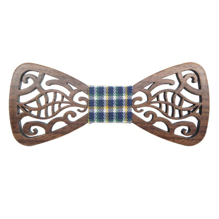 Fashionable Bamboo Bow Tie