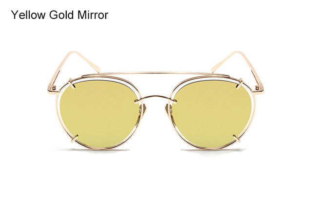 Colorful Alloy Sunglasses - 6 Colors