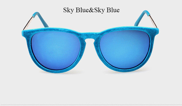 Velvet Mirror Sunglasses