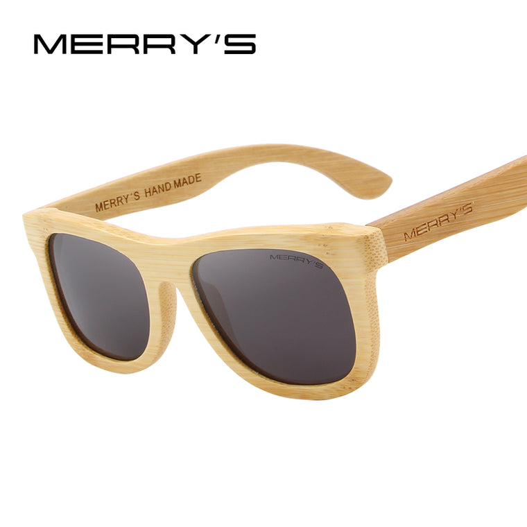All Bamboo Mirror Sunglasses