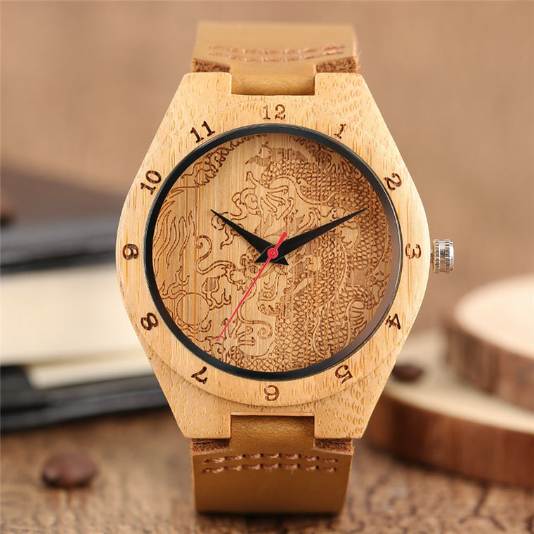 Dragon Bamboo Quartz Watch