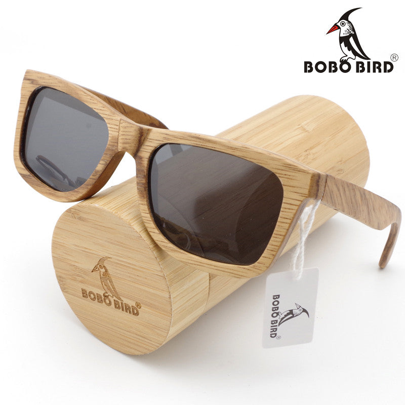 Classic Bamboo Sunglasses In Gift Box