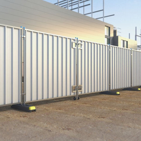 Hoarding Panel-4m Vehicle Gate Galvanised