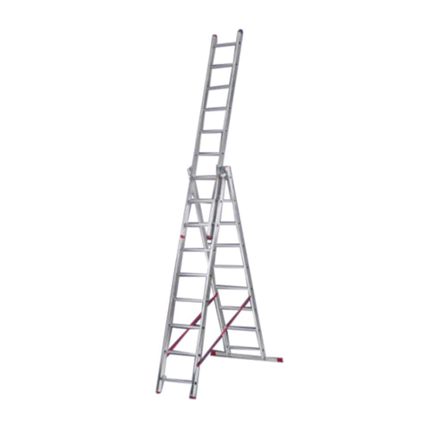 Aluminium ladder-3 Way Combination