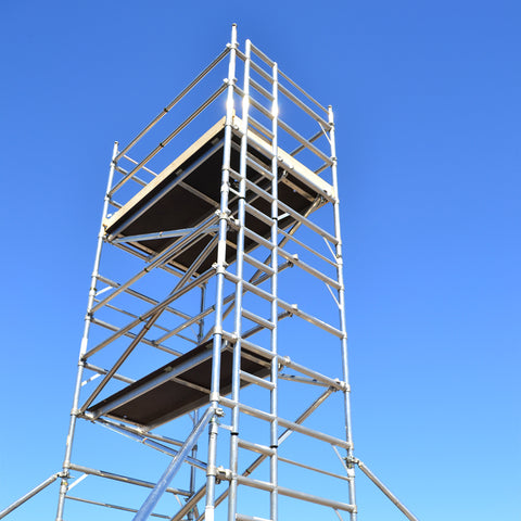 Aluminium Ladder Tower 3T - Double Width 2m