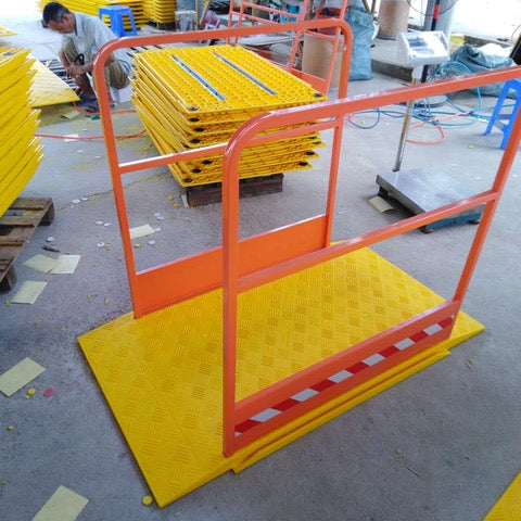 Trench Cross System- c/w Handrails
