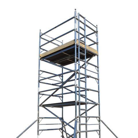 INDOOR USE ONLY - 3m Long Platform 3T Ladder Frame Tower - Double Width