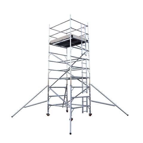 Aluminuim Towers-2.5m Long Platform Euro Tower 500 - Double Width