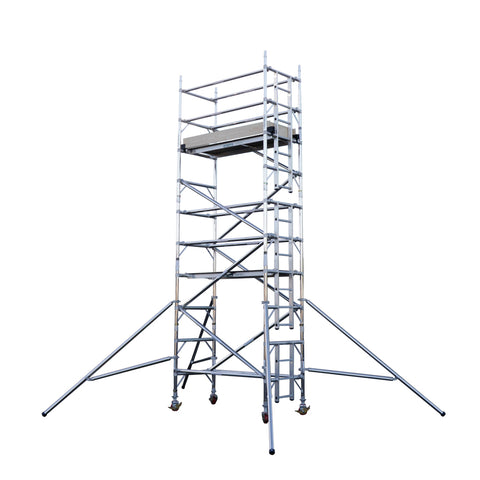 Aluminuim Towers-2.5m Long Platform Euro Tower 500 - Single Width