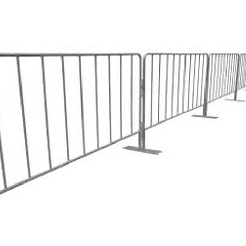 Crowd Barrier  2.3mt  (Panel Only) (Rod Infill)