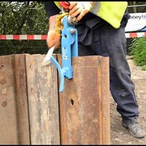 Trench Sheet Extractor Clamp
