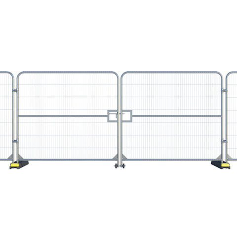 Temporary Fence- Double Vehicle Gate (latch)