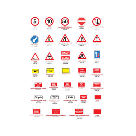 Road signs & Frames