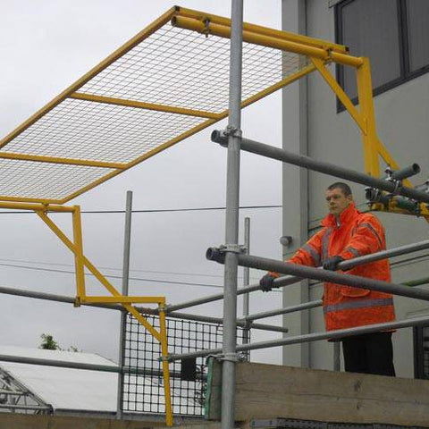 Scaffolding - Loading Bay Gate