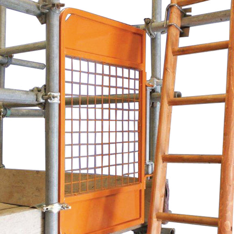 Scaffolding-Ladder Access Gate