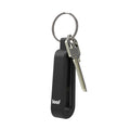 iBridge 3 in it's black silicone rubber carrying case on a keyring