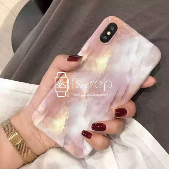 Coral Marble Case