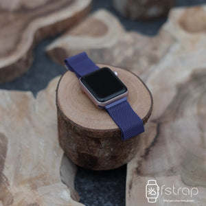 Apple Watch Strap - Bright Purple Milanese (38 mm / 40 mm II 42 mm / 44 mm) - Fstrap.id