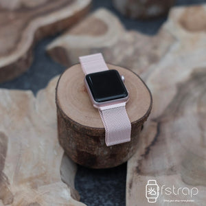 Apple Watch Strap - Pink Milanese (38 mm / 40 mm II 42 mm / 44 mm) - Fstrap.id