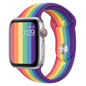 Apple Watch Strap - Pride Rubber (38 mm / 40 mm || 42 mm / 44 mm) - Fstrap.id