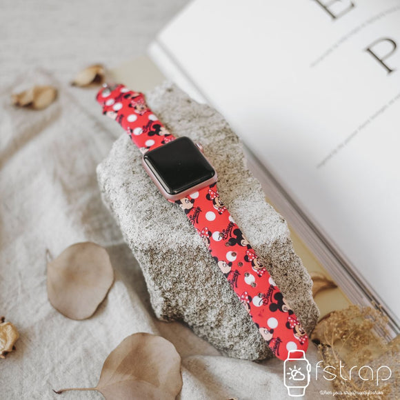 Apple Watch Strap - Red Mickey Mouse (38 mm / 40 mm || 42 mm / 44 mm) - Fstrap.id