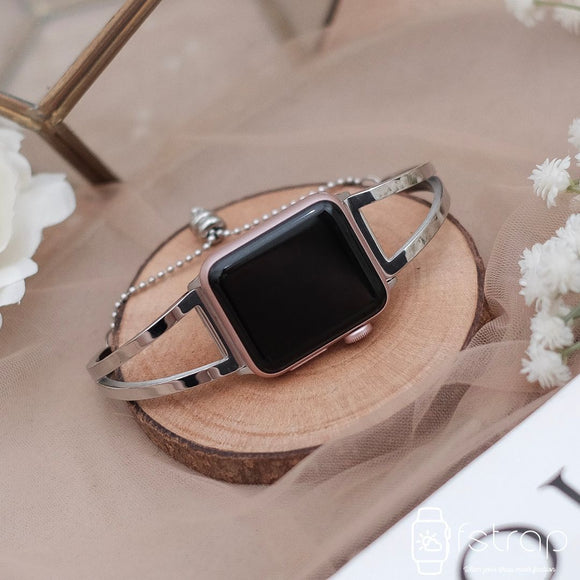 Apple Watch Strap - Silver Bracelet 2 (38 mm / 40 mm II 42 mm / 44 mm) - Fstrap.id