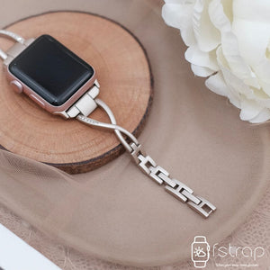 Apple Watch Strap - Vintage Gold Diamond 1 (38mm / 40mm II 42mm / 44mm) - Fstrap.id