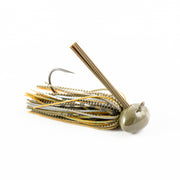 Hand Tied Blue Craw Football Bass Jig