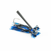 Motion Fishing Black and Blue Bruiser Finesse Bass Jig