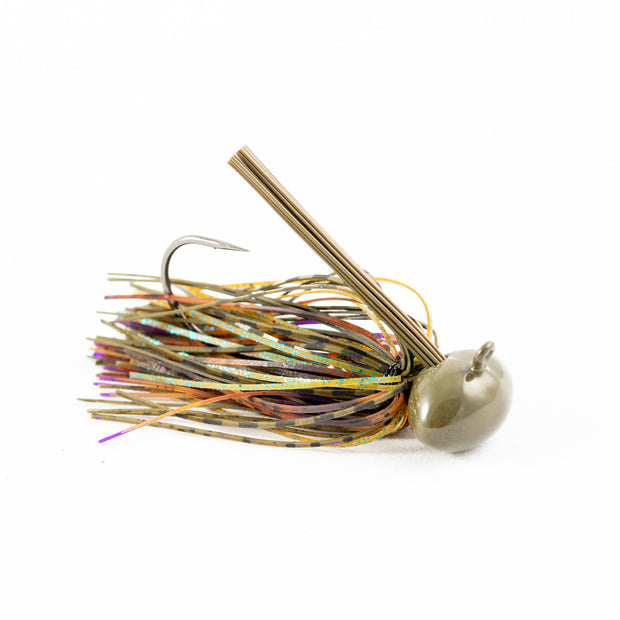 Hand Tied Gill Candy Football Bass Jig