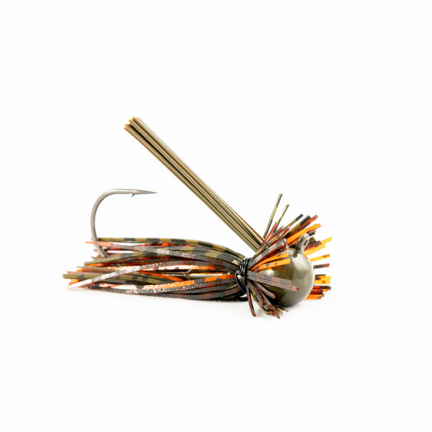 Motion Fishing Green Pumpkin Orange Finesse Bass Jig