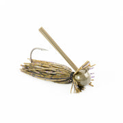 Motion Fishing Green Pumpkin Purple Flake Finesse Bass Jig