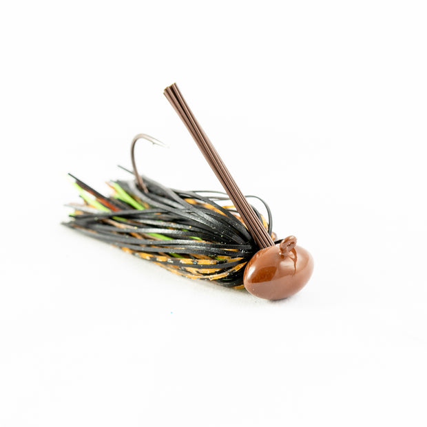 Hand Tied Missouri Craw Football Bass Jig