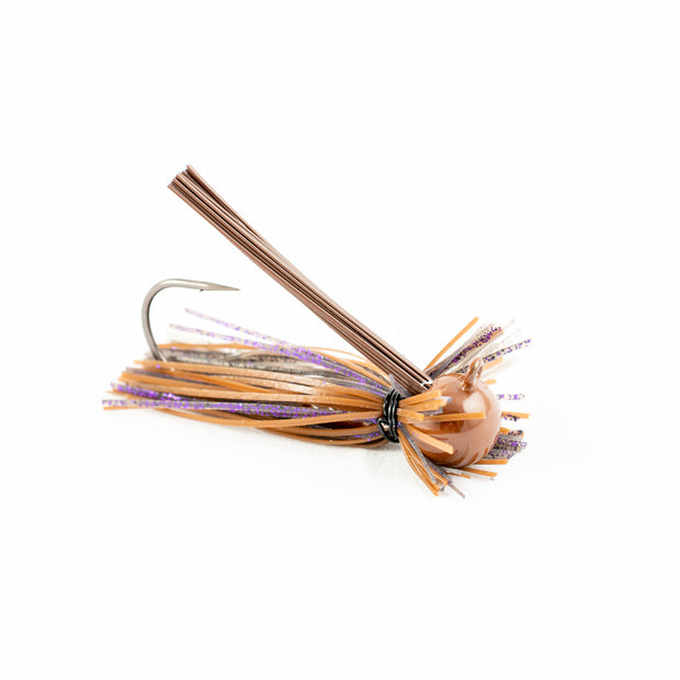 Motion Fishing PBJ Smoke Finesse Bass Jig