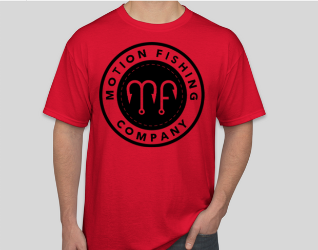 Motion Fishing Logo Graphic T-Shirt