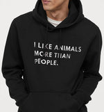 I Like Animals | Vegan Hoodie