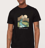 Keep Nature Wild | Vegan Mens Tee