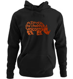 Save The Chubby Unicorn | Vegan Hoodie