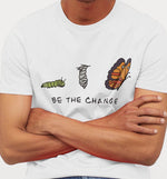 Be The Change | Vegan Mens Tee